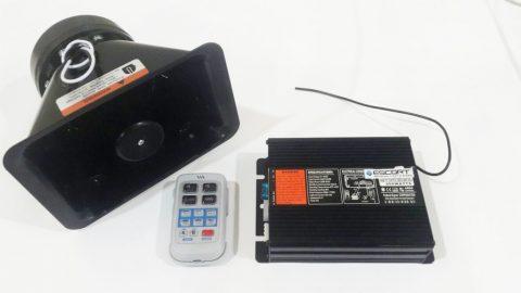 Sirine wireless 200W ESCORT AS630