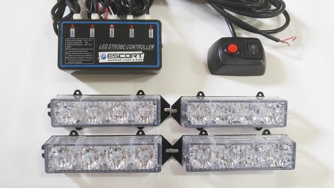 Lampu Strobo LED Grill ESCORT 4D
